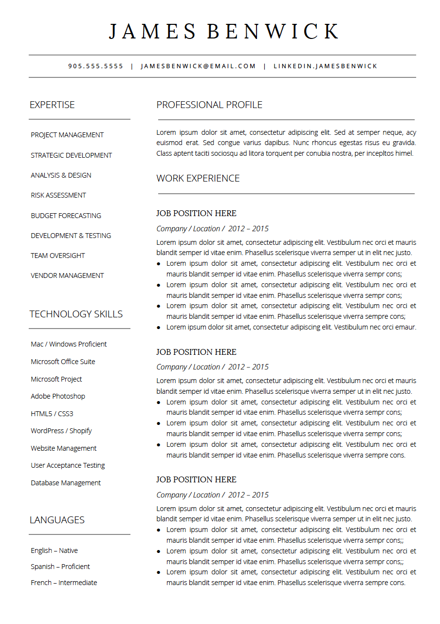 Home - How To Write A Resume That Will Get You The Interview