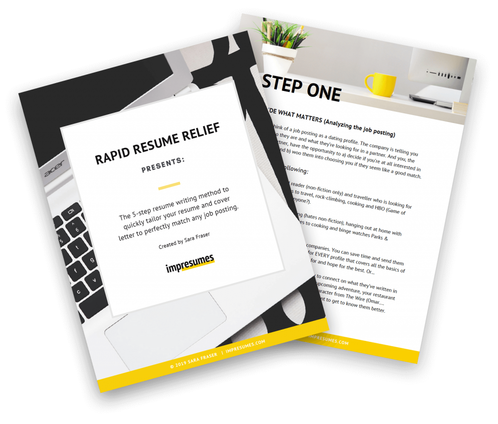 Free Resume Writing Guide
